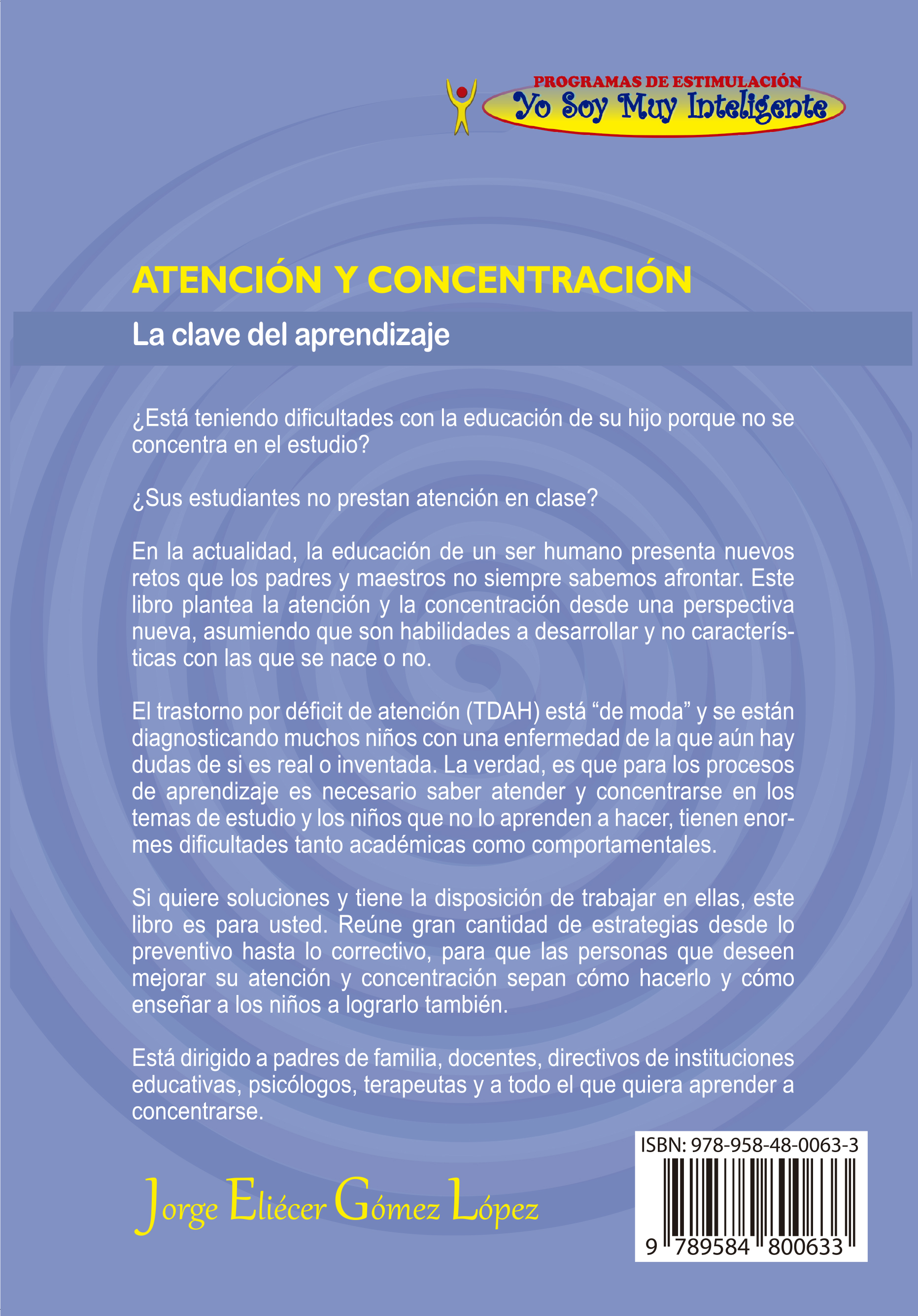 DÉFICIT DE ATENCIÓN - ATENCIÓN DISPERSA